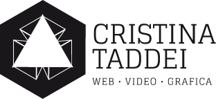 logo cristina taddei web grafica e video design